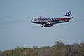 North American F-86F-30-NA Sabre Skyblazers Snodgrass 1st Pass 04 TICO 13March2010 (14412903959).jpg