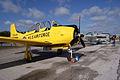 North American T-28A Trojan USAF N9102Z RSideFront TICO 13March2010 (14599350155).jpg