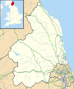 Norham is located in Northumberland