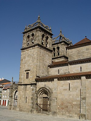 Henry, Count of Portugal - View of the South side of Braga Cathedral where Henry, Count of Portugal was buried