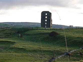 Lahinch - Dough Castle tower ruins
