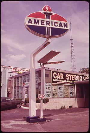 Hylan Boulevard - On Hylan Boulevard, 1973.  Photo by Arthur Tress.