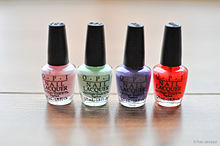 Nail Polishes From Opi