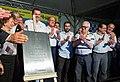 O governador do estado de São Paulo Geraldo Alckmin, entrega em Jundiaí , o complexo viário do Trevo Nove de Julho da SP-330 (37558658025).jpg