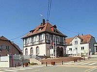 Oberhoffen-lès-Wissembourg, Mairie.jpg