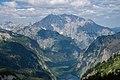 Obersee, Königssee, Watzmannstock vom Großen Teufelshorn 2015-07 (2).jpg