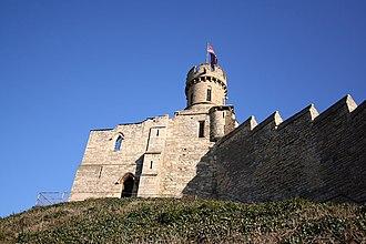 Ranulf de Gernon, 4th Earl of Chester - Lincoln castle
