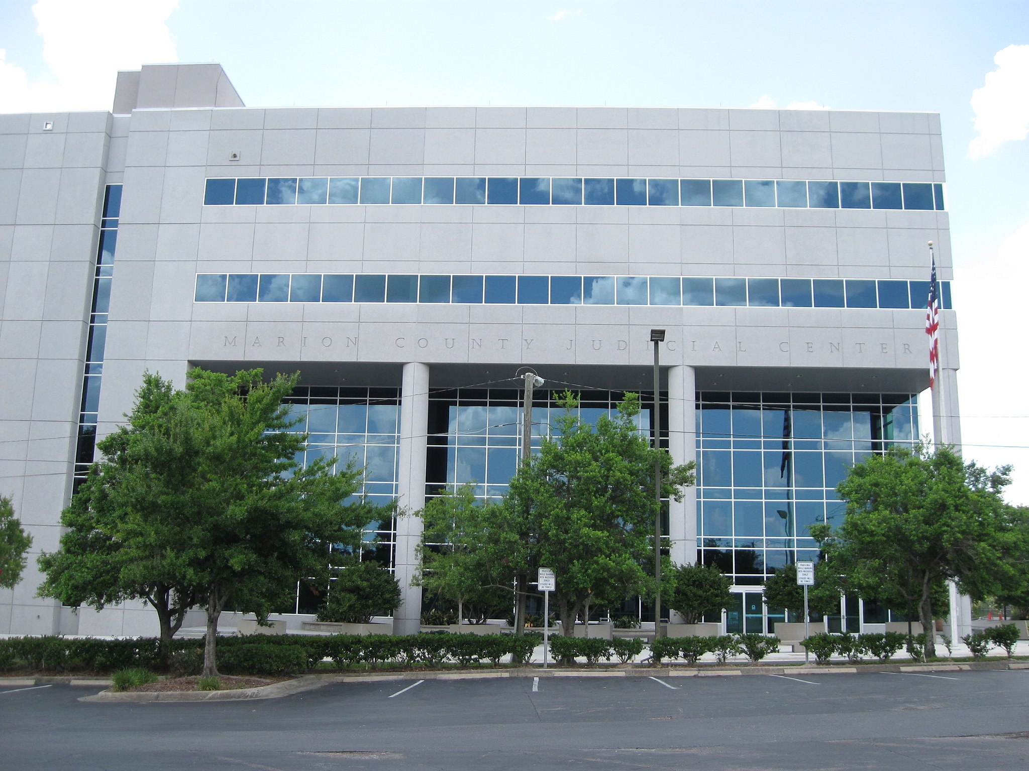 Ocala, FL, Courthouse, Marion County, South Side, 06-26-2010 (2)