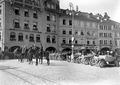 Offiziere des Generalstabes auf Waisenhausplatz - CH-BAR - 3238228.tif