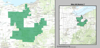 Ohio's 7th congressional district - since January 3, 2013.