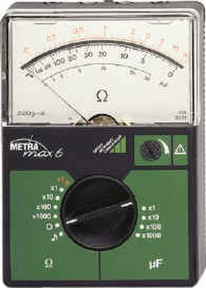 Ohmmeter - An analog ohmmeter