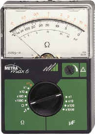 Ohmmeter - An analog ohmmeter.
