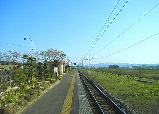 Oka Station Railway station in Kakuda, Miyagi Prefecture, Japan