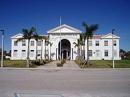 Okeechobee Countys domstolhus i Okeechobee.