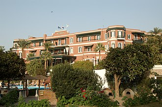 Sofitel - Image: Old Cataract Hotel, Aswan 2365535038