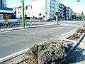 Old tram terminus in Merksem in 2007.jpg
