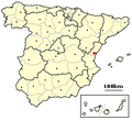 Onda, Spain location.png