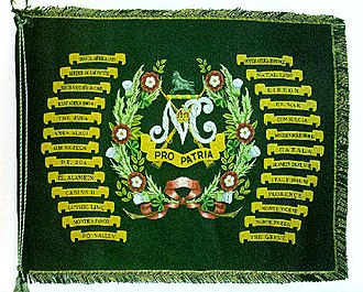 Natal Carbineers - The Natal Carbineers Regimental Colour