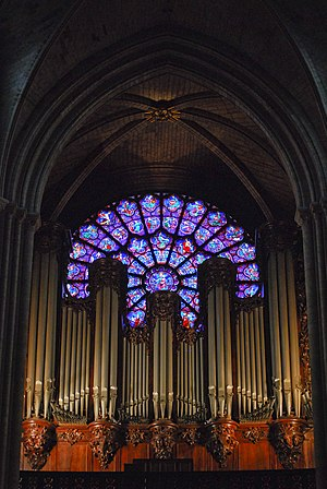 Salve Regina (Latry) - The Great Organ of Notre-Dame de Paris, where the composer premiered and recorded the piece