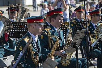 Military University of the Ministry of Defense of the Russian Federation - The university band.