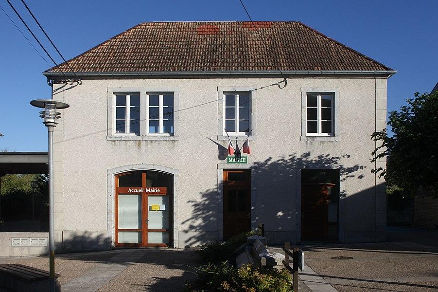Mairie d'Osse (Doubs).