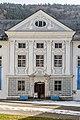 Ossiach Stift S-Trakt barocke Hoffassade Mittelrisalit mit Sockelgeschoß 24022021 8692.jpg