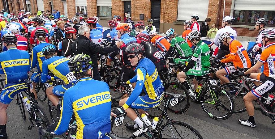 Oudenaarde - Ronde van Vlaanderen Beloften, 11 april 2015 (C01).JPG