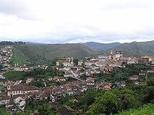 Minas Gerais-Geografia fisica-Ouro Preto 2 Minas-Gerais Brasil