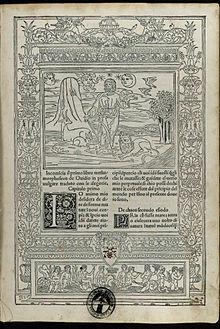 Ovidius Naso - Metamorphoses, del MCCCCLXXXXVII Adi X del mese di aprile - 1583162 Carta a1r.jpeg