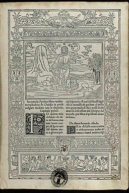 Ovidius Naso - Metamorphoses, del MCCCCLXXXXVII Adi X del mese di aprile - 1583162 Carta a1r