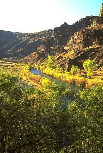 Owyhee River - The Owyhee River