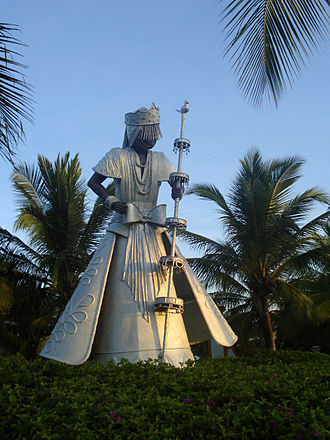 Obatala - Statue of Obatala in Costa do Sauípe, Bahía.