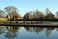 Oxborough Hall Norfolk Moat and wall.JPG