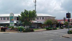 Corinda, Queensland - Shops along Oxley Road