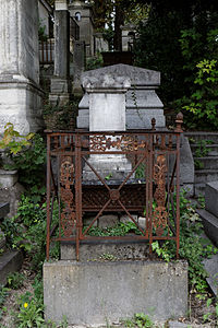 P re lachaise cemetery division 25 wikimedia commons for Chaise baudouin