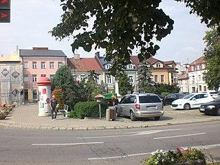 Płońsk Place in Masovian Voivodeship, Poland
