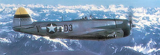 136th Airlift Wing - Republic P-47D of the 397th Fighter Squadron