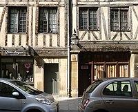 Porte Cochere Paris Restauration Plaque