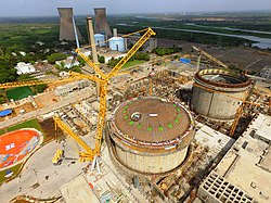 PHWR under Construction at Kakrapar Gujarat India.jpg