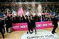 PLK dekoracja PGE Turów Zgorzelec za Mistrzostwo Polski Tauron Basket Ligi.jpg