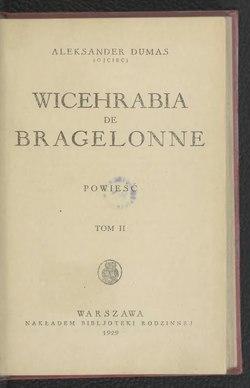 Wicehrabia De Bragelonnetom Iicałość Wikiźródła Wolna