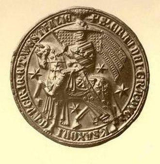 Eric I, Duke of Saxe-Lauenburg - Image: POSSE