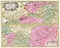 PPN611987023 Albis Fluvius Germaniae celebris A Fontibus Ad Ostia (1720).jpg
