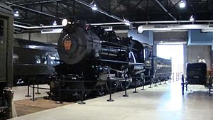 Pennsylvania Railroad class E6 - PRR 460 at the Railroad Museum of Pennsylvania