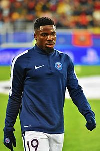 Aurier Paris Saint Germainiga (2017)