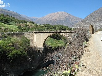 Abancay - Pachachaca Colonial Bridge, Abancay