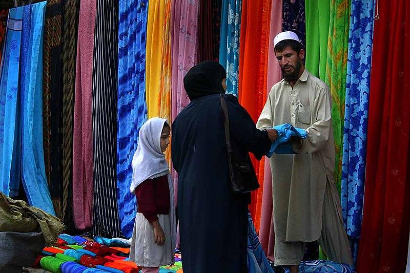 File:Pakistan Textile Market.jpg