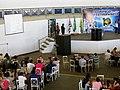 Palestra da astronauta norte americana Ellen Baker no Domingo com o Astronauta, evento comemorativo dos 10 anos da Missão Centenário, a primeira missão espacial brasileira que levou ao espaço o astronaut - panoramio (1).jpg