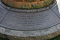 Pan Am Flight 103 Memorial - base inscription - Arlington National Cemetery - 2011.JPG