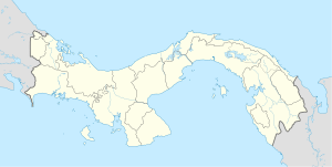 Chiriquí Grande District is located in Panama